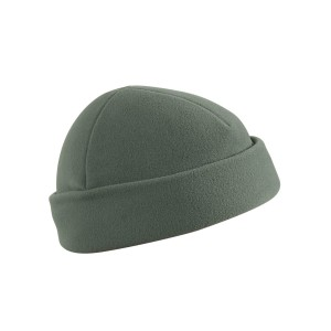 CZAPKA DOKERKA - FLEECE  - Foliage Green