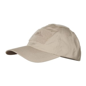 Czapka Baseball -Cotton Ripstop - Beż