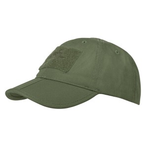 Czapka Baseball folding - Polycotton Ripstop - Olive Green