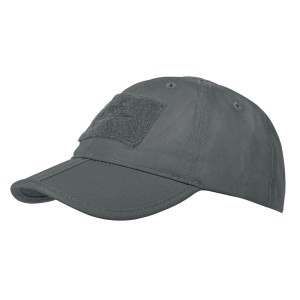 Czapka Baseball folding - Polycotton Ripstop - Shadow Grey